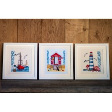 Counted Cross Stitch Kit: Lighthouse