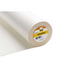 Solufix: Embroidery Backer: White: 25m x 45cm