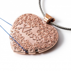 Thread Cutter: Pendant: Rose Gold