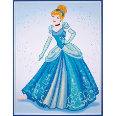 Diamond Painting Kit: Disney: Cinderella