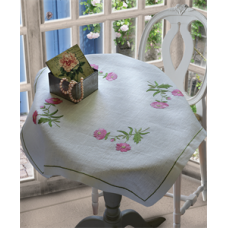 Embroidery Kit: Sweetbriers: Tablecloth