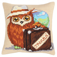 Cross Stitch Cushion: Voyager