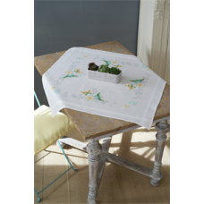 Tablecloth: Flowers & Butterflies