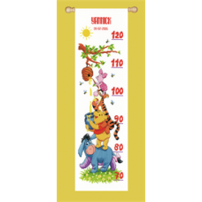 Height Chart: Winnie and Friends