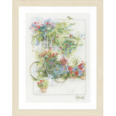 Flowers & Bicycle