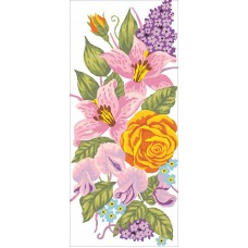 Roses and Lillies Canvas