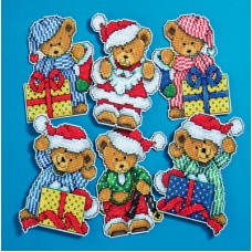 Little Christmas Bears Ornaments