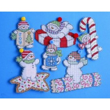 Sweetie Snowmen PC ornaments (6)