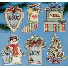 Country Christmas PC Ornaments