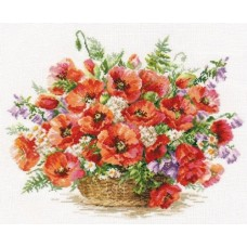Basket of Poppies
