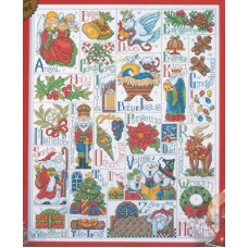 Christmas ABC Sampler