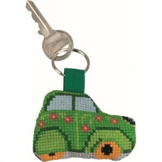 Green Citroén Keyring