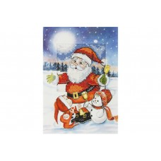 Santa & Friends Card Kit