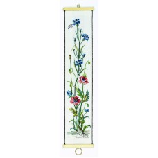 Poppies and Cornflowers Bell Pull