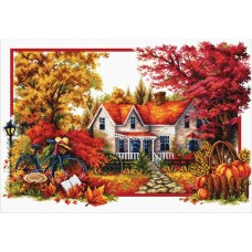 No Count Cross Stitch - Autumn Comes