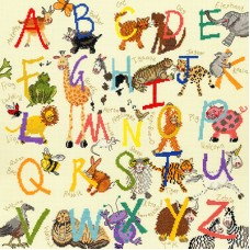 Animal Alphabet Sampler