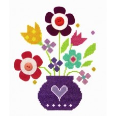 Bouquet - Cross Stitch