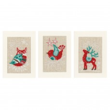 Greeting Cards: Winter Scenes: (Set of 3)