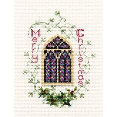 Stained Glass Window Greeting Card Kit
