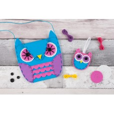 My First Sewing Kit: Owl Handbag & Charm