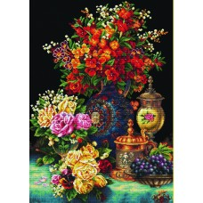 No Count Cross Stitch - Classic Flowers
