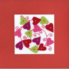 Heart Collage Cross Stitch Kit
