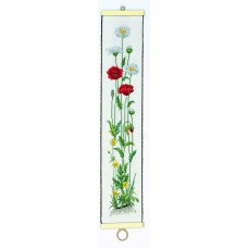 Poppies and Daisies Bell Pull