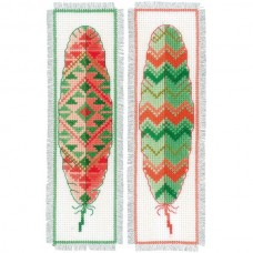 Bookmarks: Feathers (Set of 2)