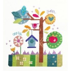 In the Garden - Cross Stitch
