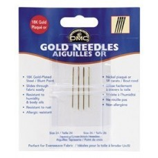 Gold Plated Needles