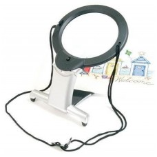 2-in-1 Illuminated Hands-Free Magnifier (LED)