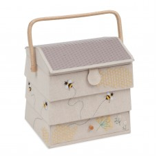 Sewing Box (L) Hive with Drawer: Bee