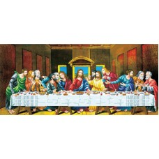 No Count Cross Stitch - The Last Supper