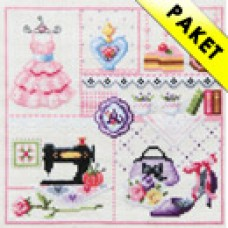 A Girls Room - Cross stitch Kit