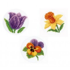 Flowers Cards (Pack of 3)