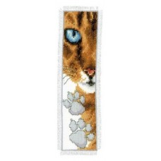 Cat Footprint Bookmark