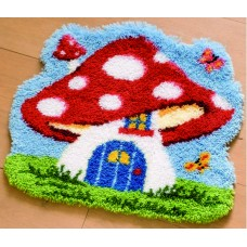 Toadstool House Rug