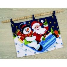 Sleigh Ride Advent Wall Hanger