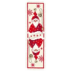 Santa and Lantern Bookmark