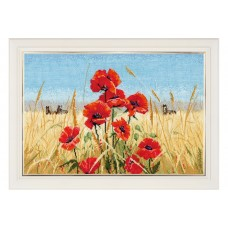 Summer Field Poppies