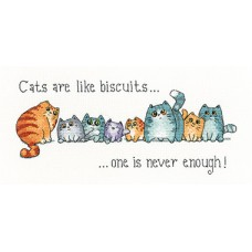 Cats & Biscuits (evenweave)