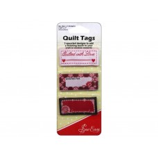 Sew Easy Quilt Tags: Quilted For