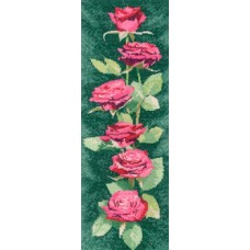 Pink Roses Panel CHART ONLY