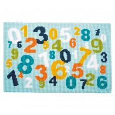 Numbers Rug - Cross Stitch Kit