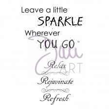 Sparkle and Relax