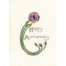 Greeting Card - Mackintosh Rose