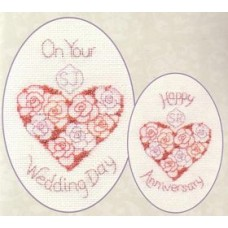 Greeting Card - Wedding day or Anniversary