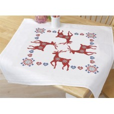 Fairisle Stags Tablecloth
