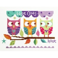 Three Owls  - Cross Stitch
