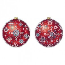 Christmas Tree Decoration - Winter Ruby